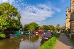 Skipton, North Yorkshire, Regno Unito Immagini Stock Libere da Diritti
