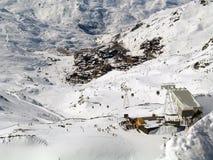 skiresort thorens val στοκ εικόνα