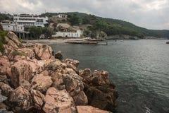 Skiros, Nothern Sporades, Greece. Scenic seascape at Skiros, Nothern Sporades, Greece Royalty Free Stock Photos
