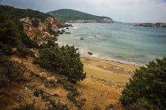 Skiros, Nothern Sporades, Greece. Scenic seascape at skiros, Nothern Sporades, Greece Stock Photography