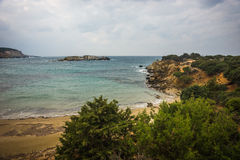 Skiros, Nothern Sporades, Greece. Scenic seascape at skiros, Nothern Sporades, Greece Royalty Free Stock Image