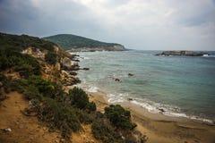 Skiros, Nothern Sporades, Greece. Scenic seascape at skiros, Nothern Sporades, Greece Stock Image