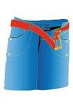 Skirt. Vector illustration of skirt under the white background Stock Photo