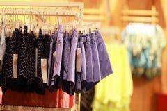 Skirt. Beijing mall lady short skirts stock images