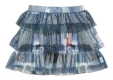 Skirt with folds Royalty Free Stock Image