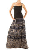 Skirt with Oriental Ornament Royalty Free Stock Images