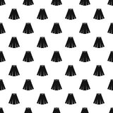 Skirt pattern vector Royalty Free Stock Images
