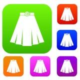 Skirt set collection Stock Photos