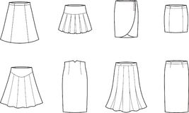 Skirt Royalty Free Stock Photos