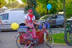 Skirtbike 2016 à Bucarest, Roumanie Images stock