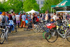 Skirtbike 2016 στο Βουκουρέστι, Ρουμανία Στοκ φωτογραφίες με δικαίωμα ελεύθερης χρήσης