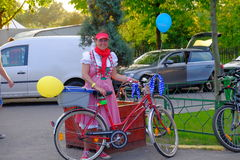 Skirtbike 2016 στο Βουκουρέστι, Ρουμανία Στοκ Εικόνες