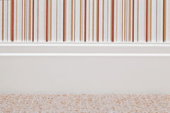 Skirting board Royalty Free Stock Images