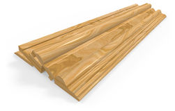 Skirting boards Stock Images