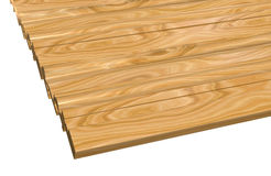 Skirting boards Stock Photo
