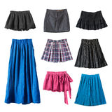 skirts Royaltyfria Foton