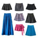 Skirts royalty free stock photos