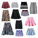 Skirts Royalty Free Stock Photo