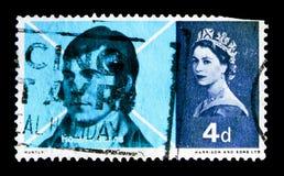 Skirving kritateckning, brännskadaåminnelseserie, circa 1966 Royaltyfri Bild