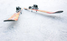Skis de style libre Image libre de droits