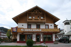 Skischool Lizenzfreies Stockbild