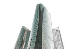 Skissar den arkitektoniska teckningen för kontorsbyggnad Royaltyfria Bilder