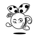 Skisserat ladyfel Royaltyfri Foto