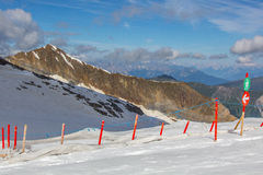 Skistation Stockbilder