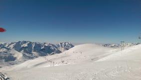 Skistation Lizenzfreie Stockfotografie