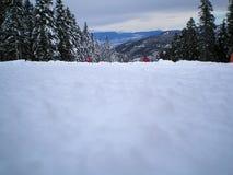 Skisteigung Stockfotografie