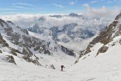 Skitouring Immagine Stock Libera da Diritti