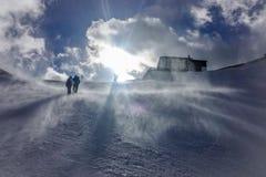 Skitouring Стоковое Изображение RF