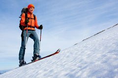 Skitouring Royalty Free Stock Photos