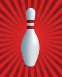 Skittles. Bowling illustration stock