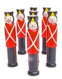 Skittles; childrens' game. Royalty Free Stock Photo