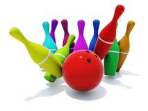 Skittles de couleur illustration libre de droits
