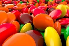 Skittles-Süßigkeit Lizenzfreie Stockfotografie