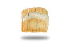 Skiva av bröd för helt vete för bakgrund Royaltyfri Foto
