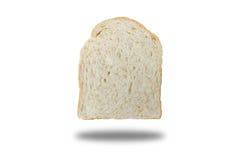 Skiva av bröd för helt vete för bakgrund Arkivbild
