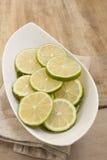 Skiva av citronen Royaltyfri Bild