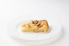 Skiva av den Apple pien Fotografering för Bildbyråer