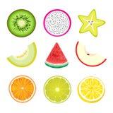 Skiva av frukt Royaltyfri Foto