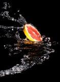 Skiva av grapefrukten Royaltyfria Foton