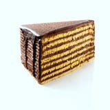 Skiva av kakan Arkivfoton