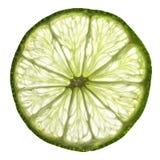 Skiva av limefrukt Arkivbilder