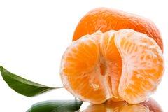 Skiva av mandarinen Royaltyfri Bild