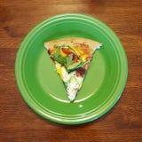 Skiva av Pizza Royaltyfri Fotografi