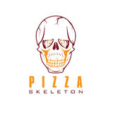 skiva av pizzakonst vektor illustrationer