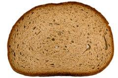 Skiva av tyskt healty brunt bröd Arkivfoto