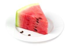 Skiva av vattenmelon Royaltyfria Foton